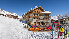 Self catering options in Tignes