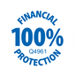 Travel Trust 100% protection