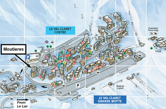 Moutiers 2 Location Map