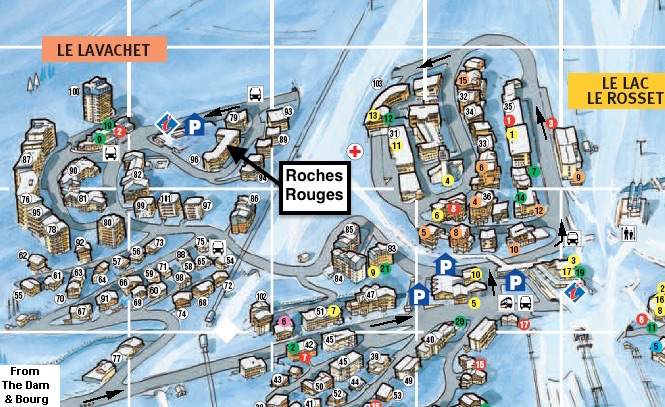 Roches Rouges 4 Location Map